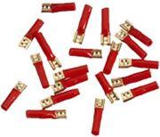 Obrázek Faston reproduktorový červený