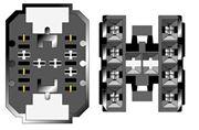 Obrázek Konektor ISO Saab 900-9000