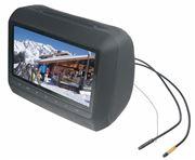 """Obrázek x  DVD/SD/USB monitor 9"""" v černé opěrce"""