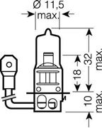 Obrázek OSRAM 24V H3 70W standard (1ks)
