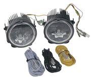 Obrázek LED světla pro denní svícení, kulatá 70mm, ECE