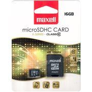 Obrázek Paměťová karta MAXELL micro SDHC 16GB včetně adaptéru