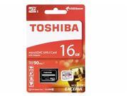 Obrázek Paměťová karta TOSHIBA micro SDHC 16GB včetně adaptéru