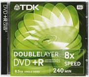 Obrázek TDK DVD+R DL 8.5GB 8x