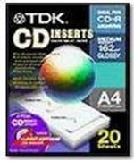 Obrázek TDK A4 CD lesklý 20ks, 162g*