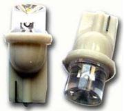 Obrázek LED s paticí T10 rozptylová bílá