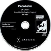 Obrázek Panasonic STRADA mapy 2008 Update T1000-EE0407