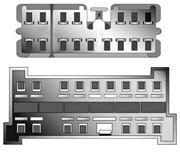 Obrázek Kabeláž pro HF PARROT/OEM Hyundai 02-05, KIA -2005