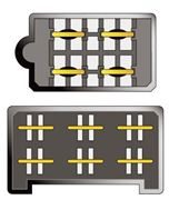 Obrázek Konektor ISO Fiat Tipo,Tempra,500