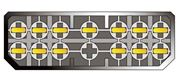 Obrázek Konektor ISO Chevrolet/Daewoo >96