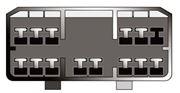 Obrázek Konektor ISO Hyundai