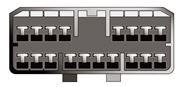 Obrázek Konektor ISO SSANGYONG starší modely
