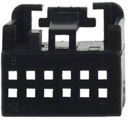 Obrázek MOST plast. pouzdro 25.055/4 černé