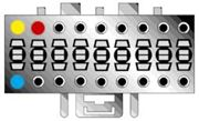 Obrázek Kabel pro SONY 18-pin / ISO