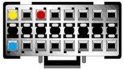 Obrázek Kabel pro PIONEER 16-pin / ISO černý
