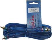 Obrázek RCA audio kabel BLUE BASIC line, 3m