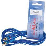Obrázek RCA audio kabel BLUE BASIC line, 1m