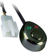 Obrázek Spínač tlačítkový 12/24V s LED podsvícením