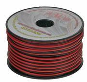 Obrázek Kabel 2x1 mm, černočervený, 50 m bal