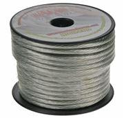 Obrázek Kabel 6 mm, stříbrně transparentní, 25 m bal