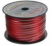 Obrázek Kabel 20 mm, červeně transparentní, 25 m bal