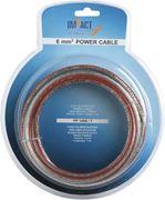 Obrázek x Napájecí kabel IMPACT 20 mm2 transparentní, role 7m