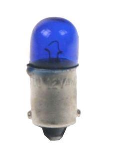 Obrázek z žárovka 12V (T4W) BA9S modrá