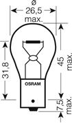 Obrázek OSRAM 12V P21W (BA15s) 21W standard (1ks)
