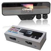 Obrázek 2 kanálová kamera v zrcátku pro záznam obrazu, IR přisvícení