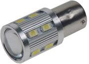 Obrázek LED BAY15D bílá, 12SMD 5630 + 3W Osram 10-30V