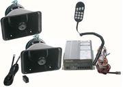 Obrázek x Profesionální výstražný systém s mikrofonem 300W