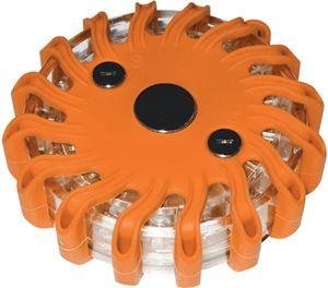 Obrázek z LED výstražné světlo 16LED, oranžové