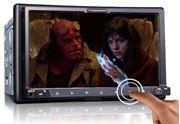 Obrázek 2DIN DVD autorádio s bluetooth, SD/USB/FM/DUAL-GPS/RDS/ČESKÉ MENU