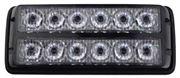 Obrázek PREDATOR dual 12x1W LED, 12-24V, oranžový, ECE R10