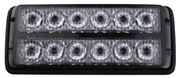 Obrázek PREDATOR dual 12x1W LED, 12-24V, modrý, ECE R10