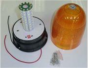 Obrázek LED maják, 12-24V, oranžový, 80x SMD5050, ECE R10