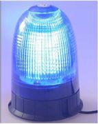 Obrázek LED maják, 12-24V, modrý, 80x SMD5050, ECE R10