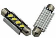 Obrázek LED sufit (42mm) bílá, 12V, 4LED/5630SMD s chladičem