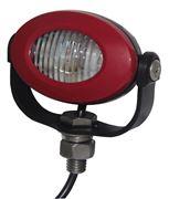 Obrázek PROFI LED výstražné světlo 12-24V 3x3W červený ECE R10 92x65mm