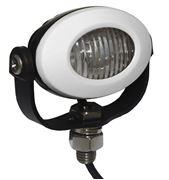 Obrázek PROFI LED výstražné světlo 12-24V 3x3W bílý ECE R10 92x65mm