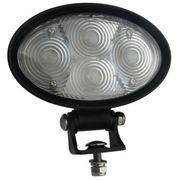 Obrázek PROFI LED výstražné bodové světlo 10-48V 4x3W modrý 143x122mm, ECE R10