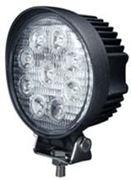 Obrázek LED světlo kulaté, 9x3W, ECE R10