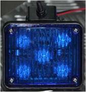 Obrázek x PREDATOR LED vnitřní, 12V, 10x LED 1W, modrý