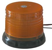 Obrázek LED maják, 12-24V, oranžový