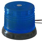 Obrázek LED maják, 12-24V, modrý, homologace