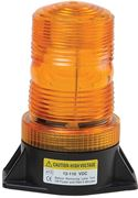 Obrázek Zábleskový maják 12-24V, oranžový, ECE R10