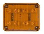 Obrázek x PREDATOR LED obdélníkový 12/24V, 8x 3W oranžový