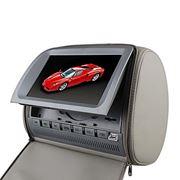 Obrázek Opěrka s vestavěným DVD a LCD, digitální + dotykový displej, šedá