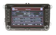 """Obrázek Autorádio pro VW, Škoda s 7"""" LCD, GPS, multicolor, ČESKÉ MENU"""