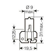 Obrázek x OSRAM 12V H2 55W standard (1ks)